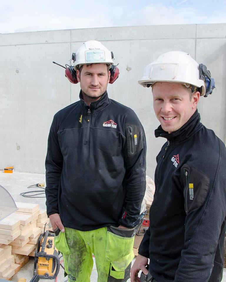 To tømmermenn i Gann Tre